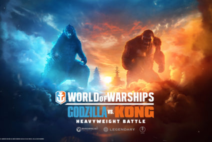 Godzilla und Kong kämpfen in World of Warships